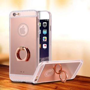 rotating ring phone case