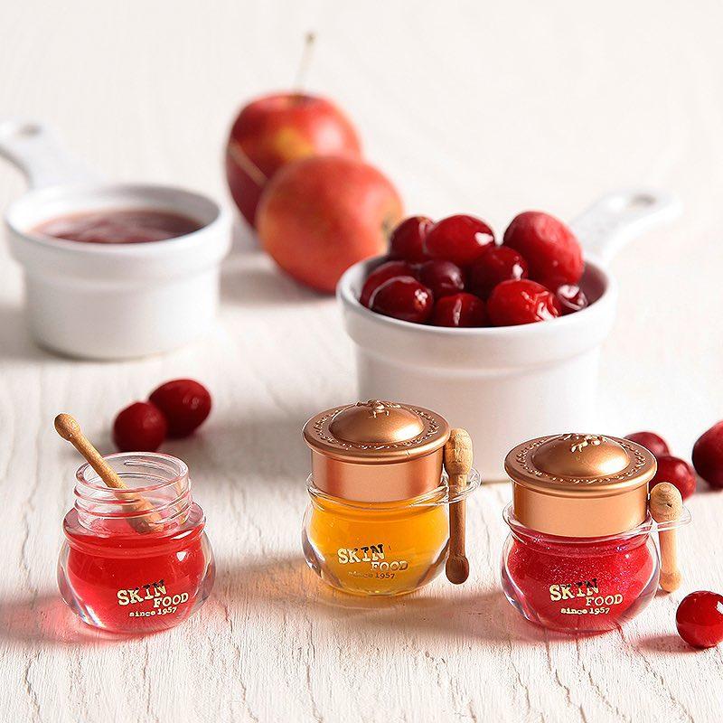 Skinfood's Honey Pots of Lip Balm