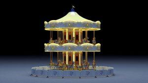 Artist impression of the 2-storey Carousel