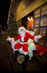 Meet Santa Claus himself!