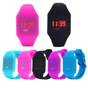Touch Screen LED Silicone Sports Watch