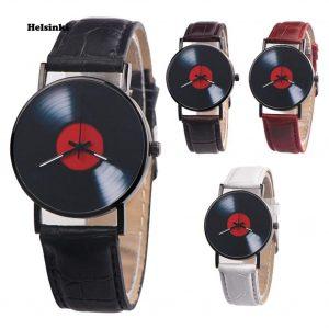 Retro Vinyl Leather Watch