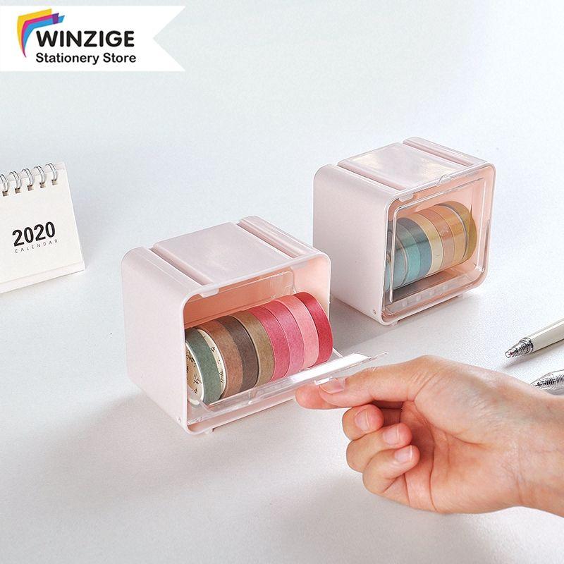 tape dispenser desktop organiser