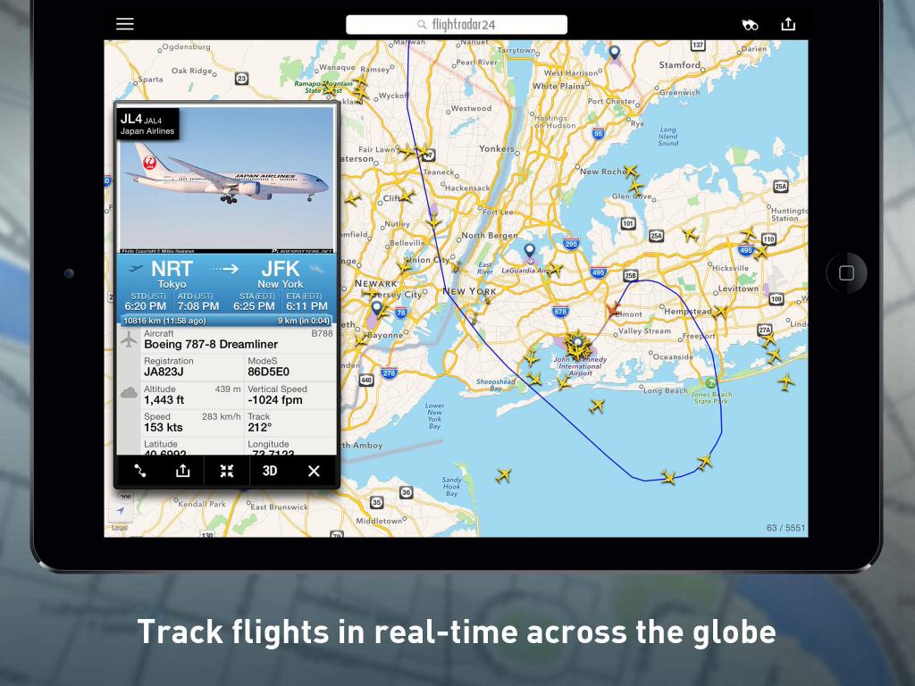 Flightrader24 App