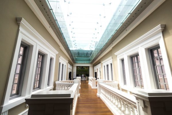 quiet places in singapore museums