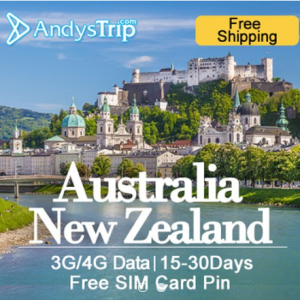 Australia New Zealand Prepaid SIM Card