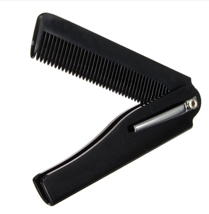 folding comb for hairstyles for men