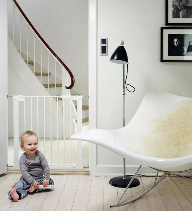 stairs and baby gates