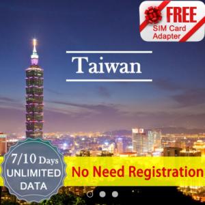 Taiwan Data SIM Card