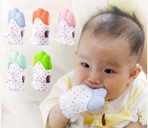 newborn baby teething glove