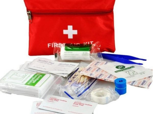 first aid kit travel with kids