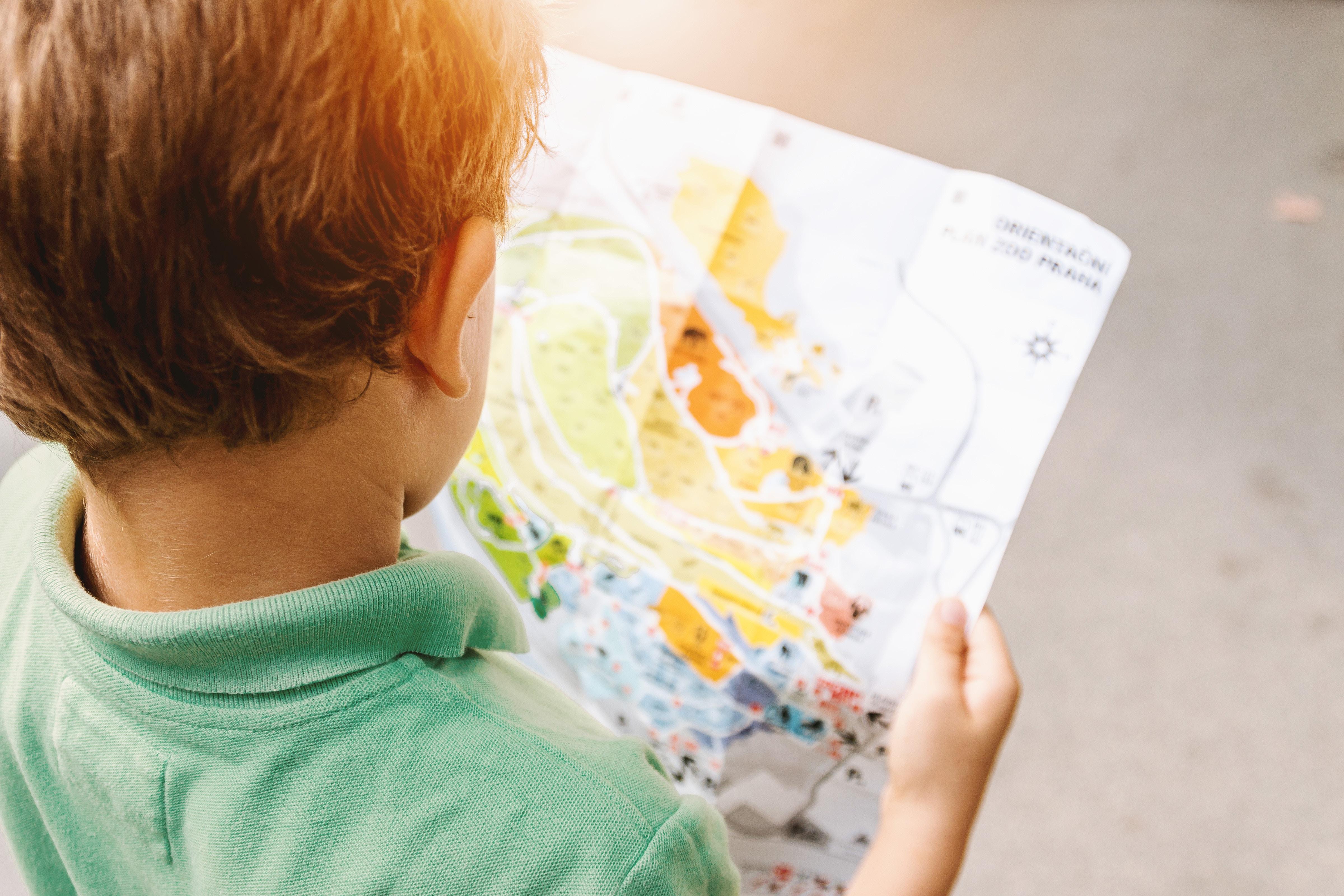 map kid
