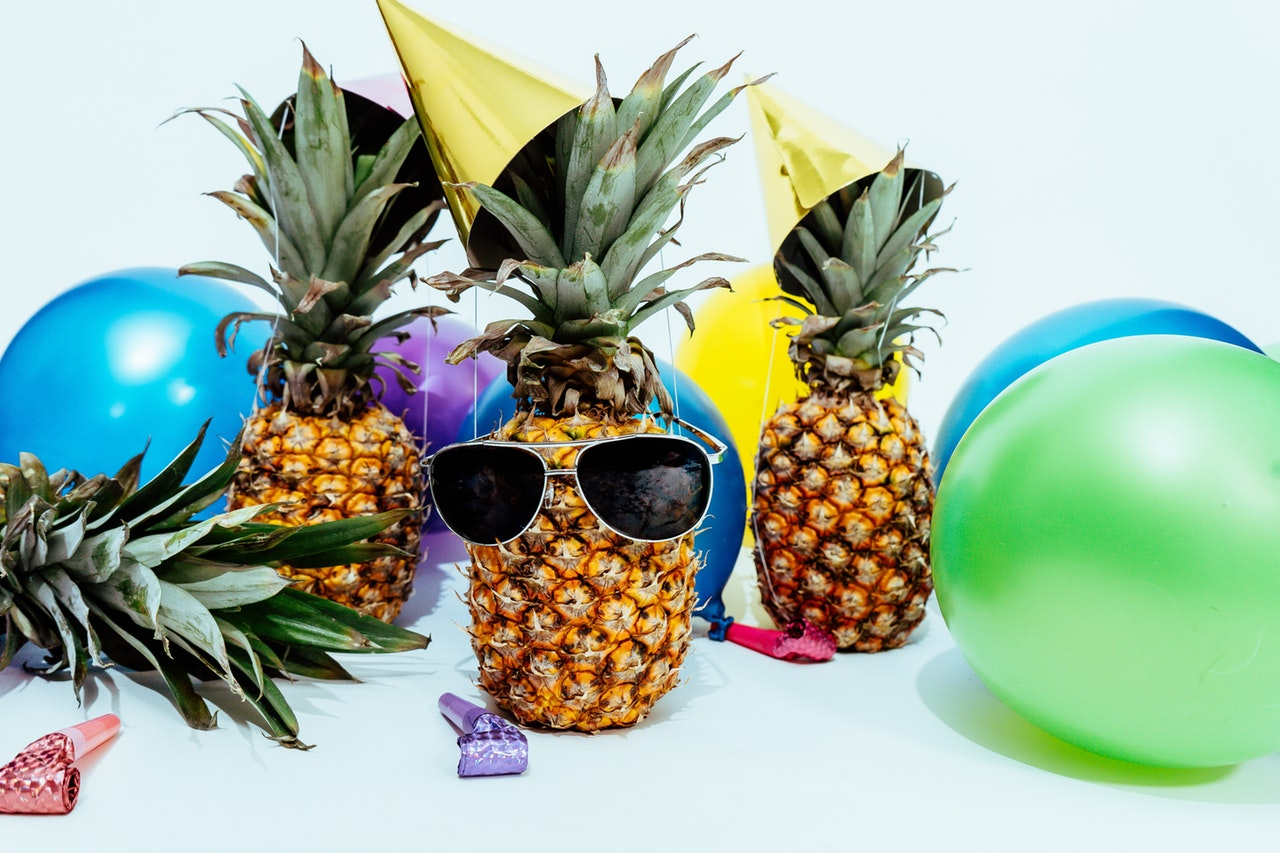 Decorations Pineapple Sunglasses Party