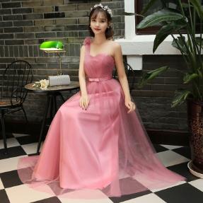 toga bridesmaid dress