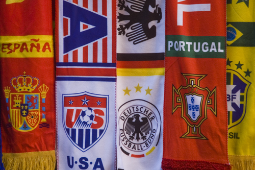 World Cup 2018 Country Scarf