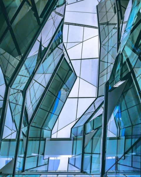 hidden instagram worthy places in singapore take photos lasalle collage of the arts glass