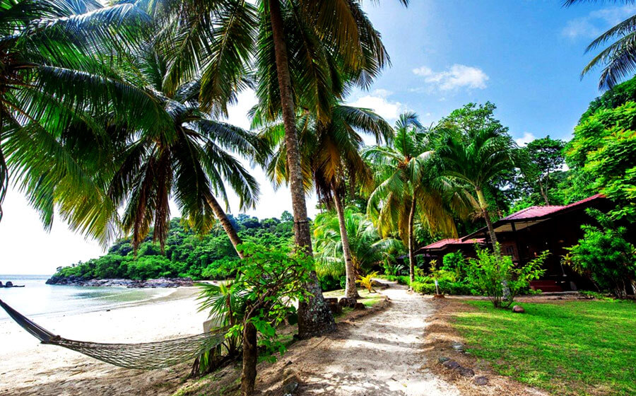 Tenggol Island beach resort rooms Malaysian islands