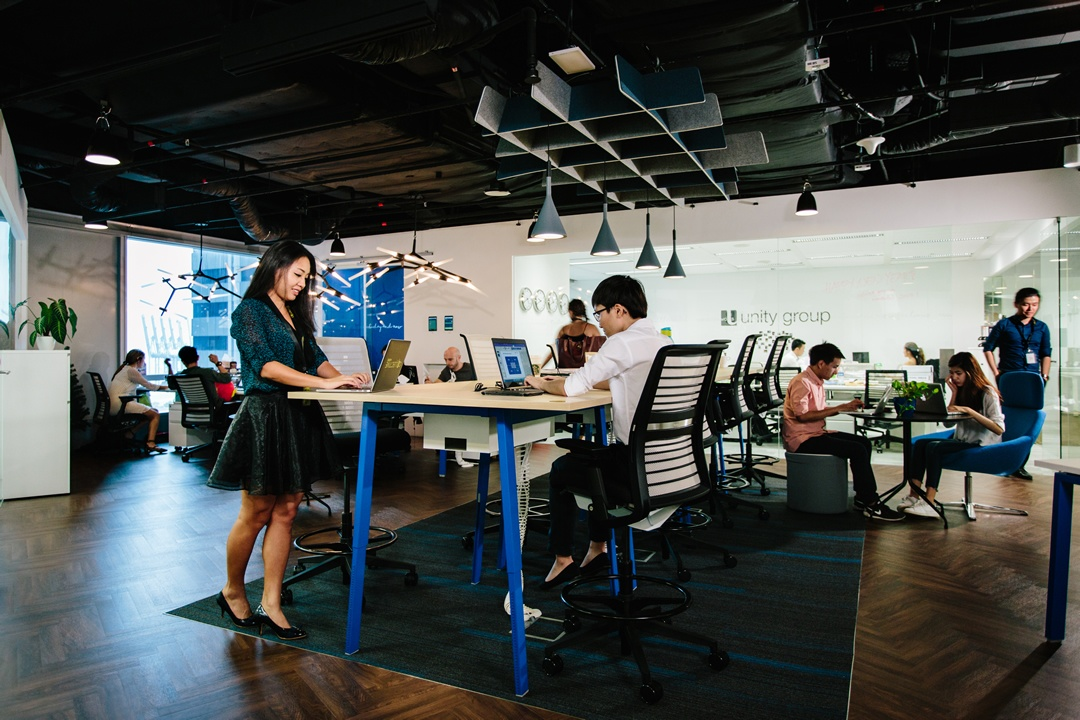 collective works coworking spaces in singapore