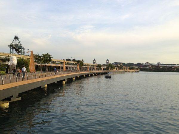 places to take photo singapore sentosa boardwalk