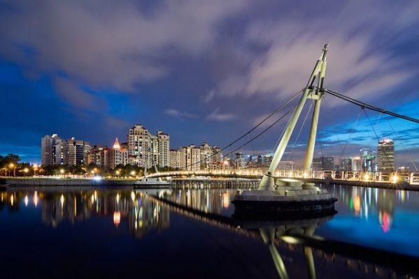 instagram worthy places singapore hidden tanjong rhu bridge tower night