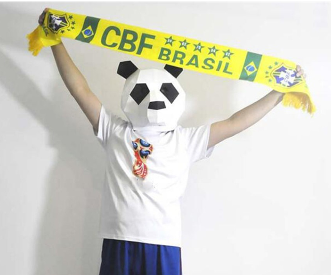World Cup 2018 Scarf Mannequin
