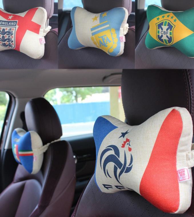 World Cup 2018 Car Head Cushion