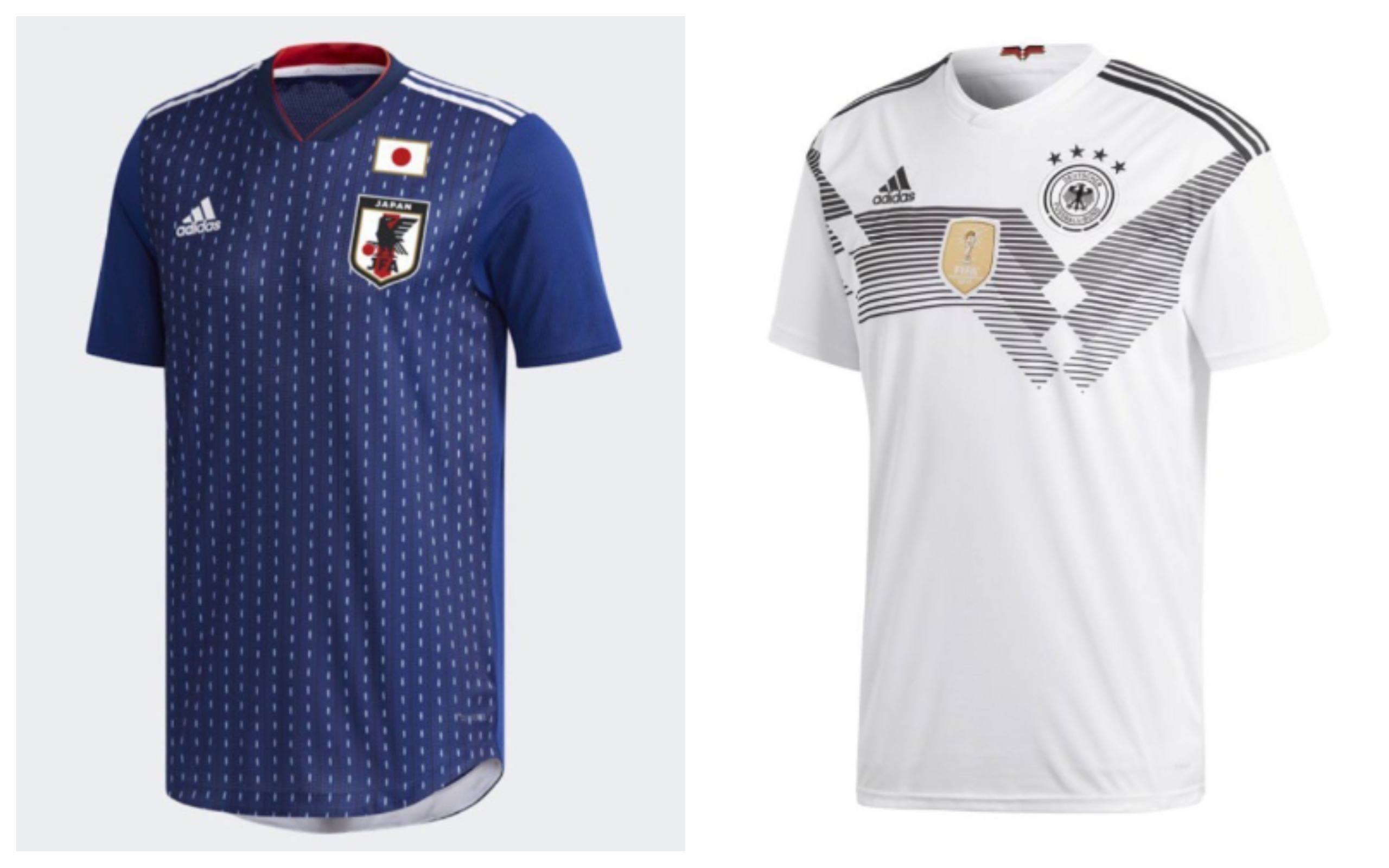 World Cup 2018 Jersey Japan Germany