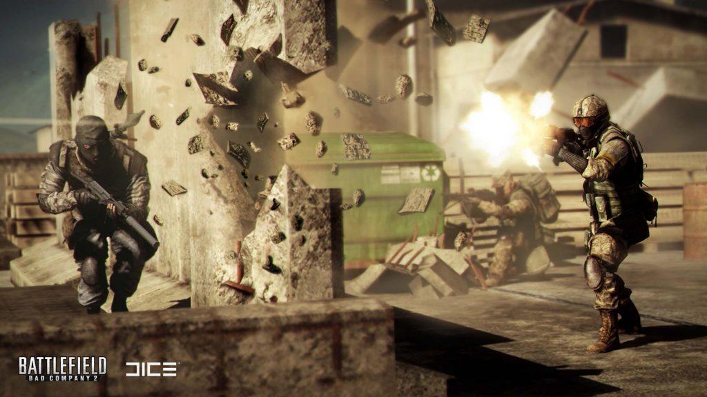 Battlefield Bad Company 2 Battlefield 5