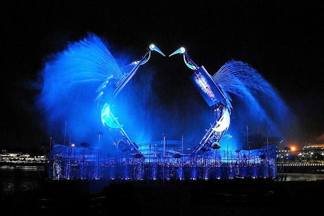 Things To Do In Sentosa Crane Dance Singapore Sentosa Attraction