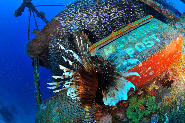 Mataking Island Underwater Post Office Malaysian islands
