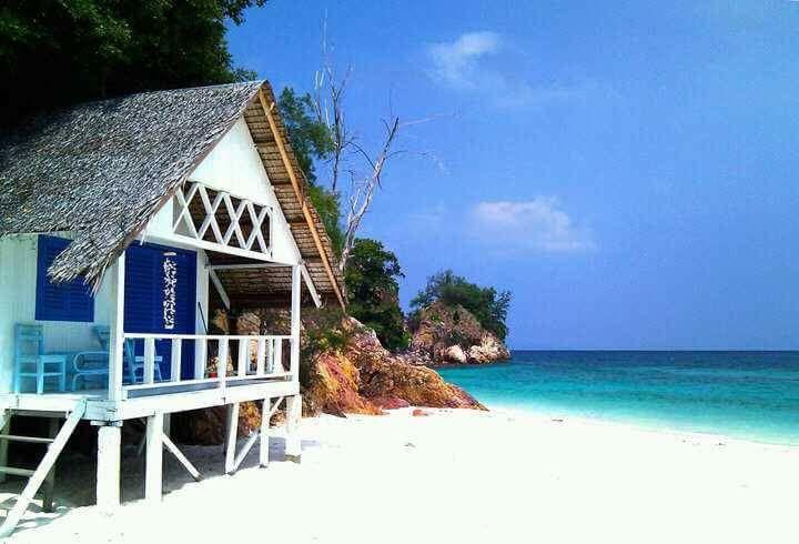 Rawa Island A Frame House Malaysian Island