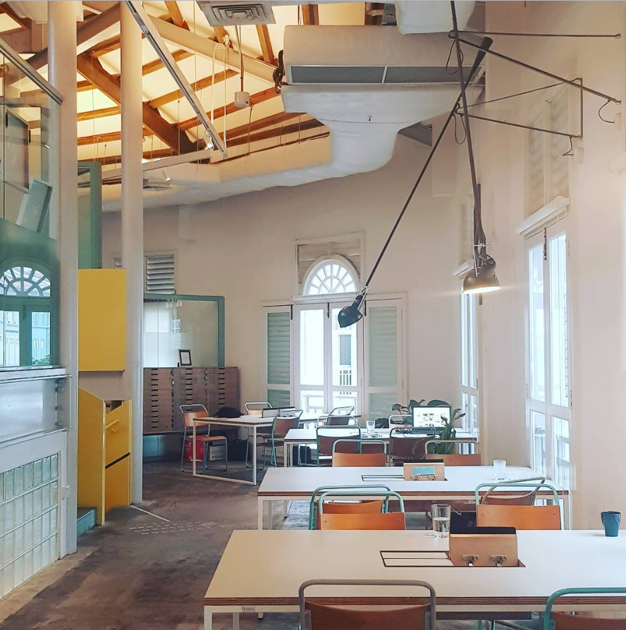 the working capitol coworking space singapore