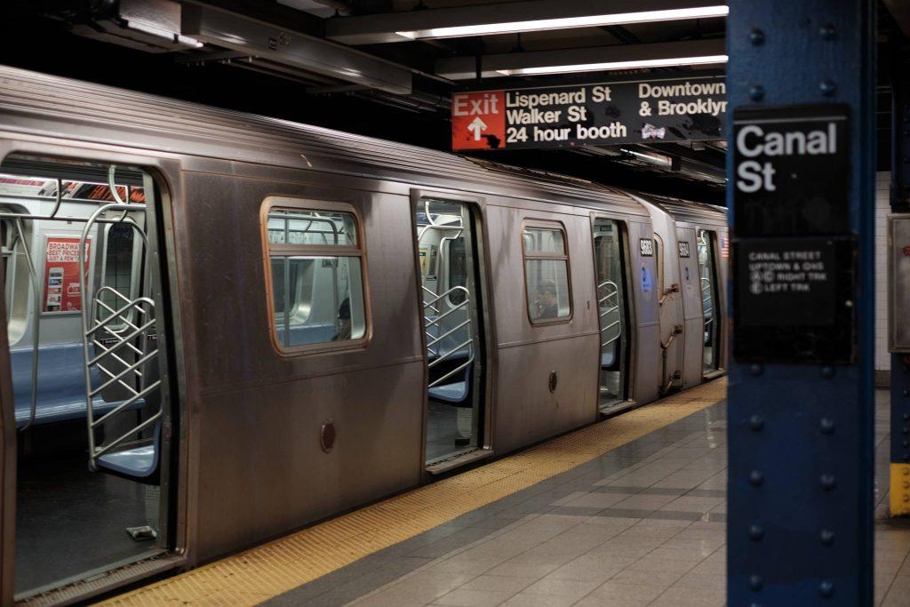 Iconic New York Subway As Exchange Student