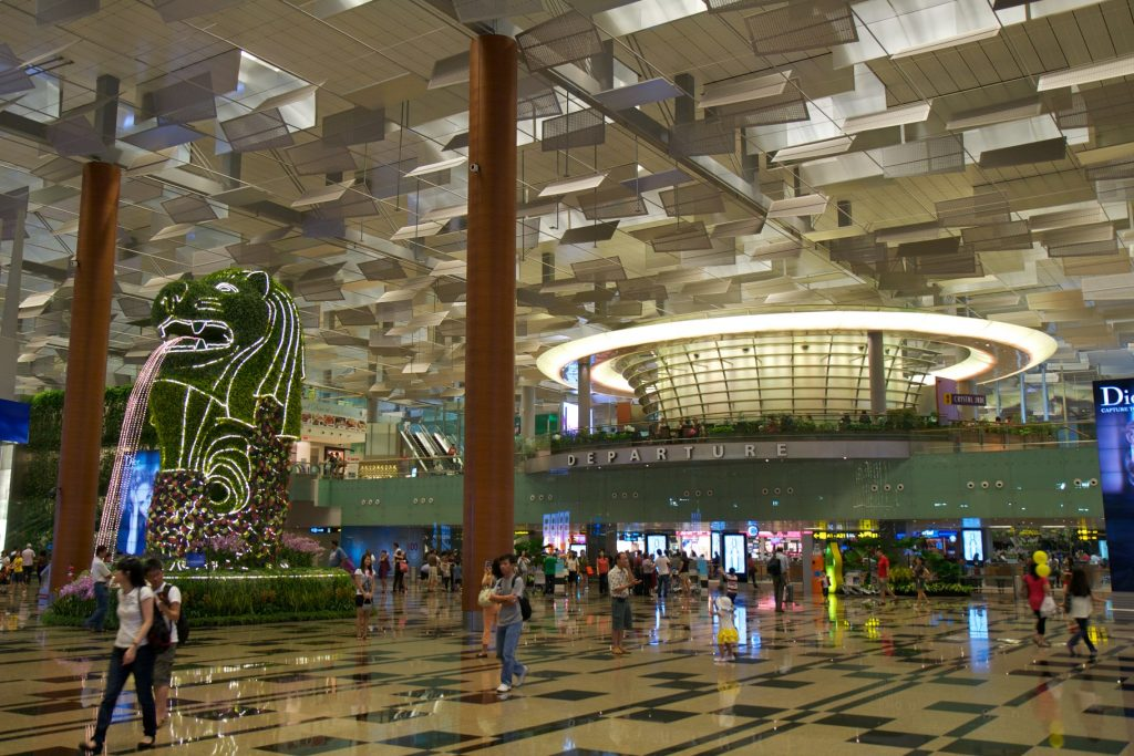 Changi Airport - Exchange Student Coming Home