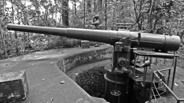 Hiking Trails Singapore Labrador Park Gunpost