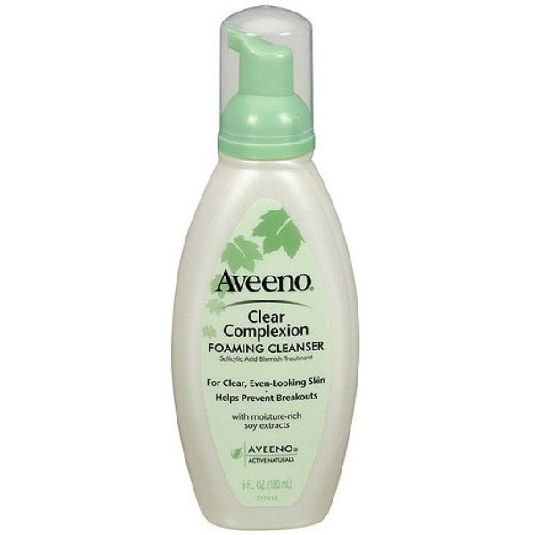 best facial cleanser aveeno clear complexion facial cleanser
