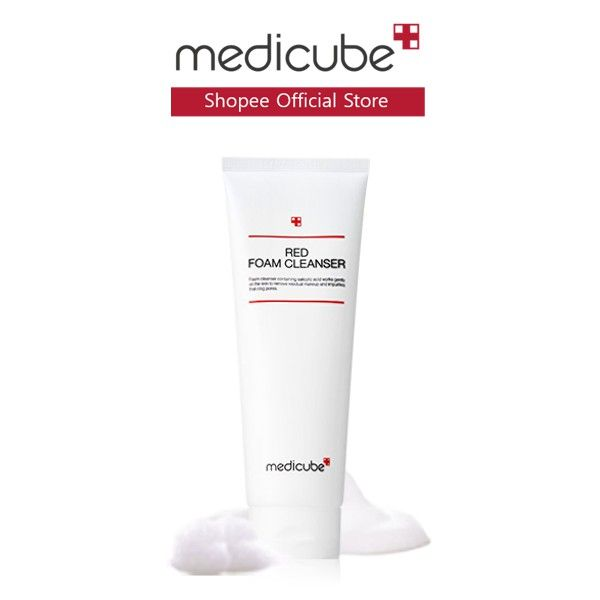 best facial cleanser medicube red foam cleanser