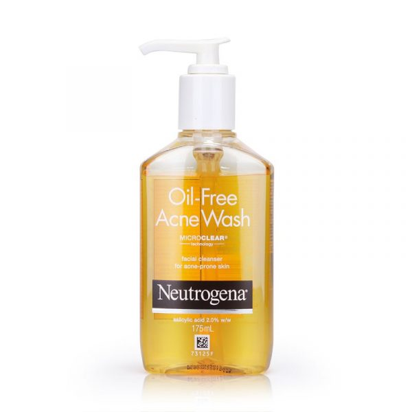 best facial cleanser neutrogena oil free acne wash