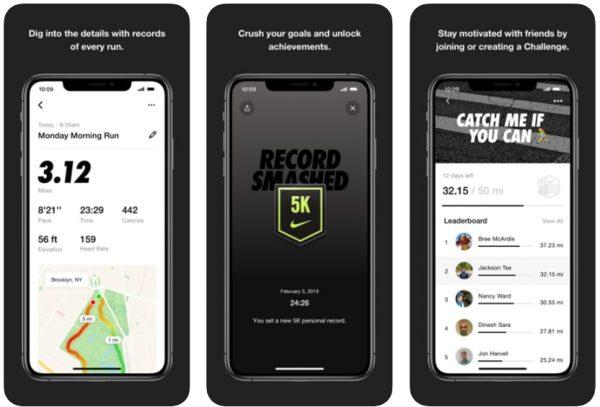 best fitness app nike run club