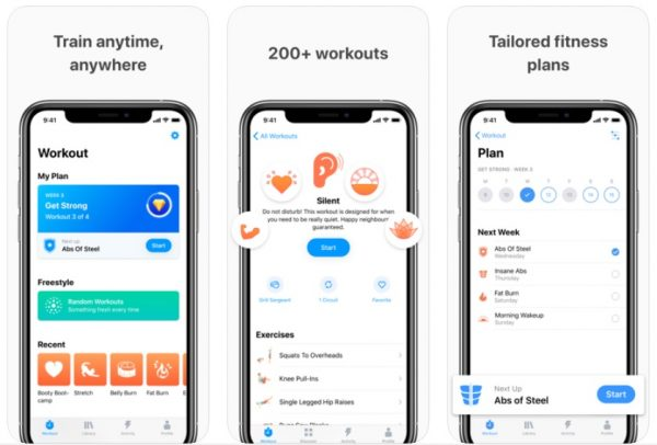 best fitness app seven
