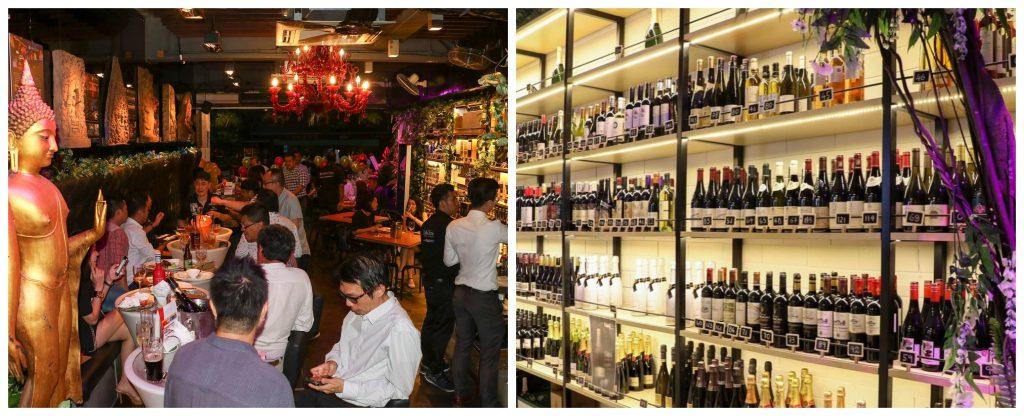 wine tapas friends holland village bars Singapore nightlife