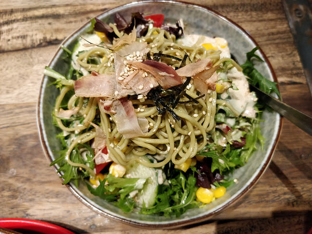 noodle salad recipe meal prep in singapore