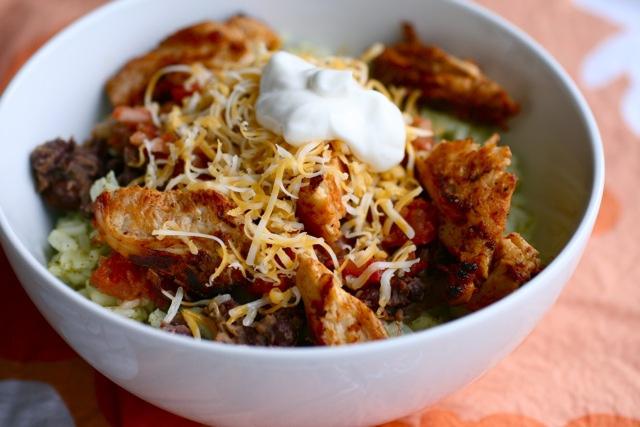 burrito bowl recipe meal prep in singapore
