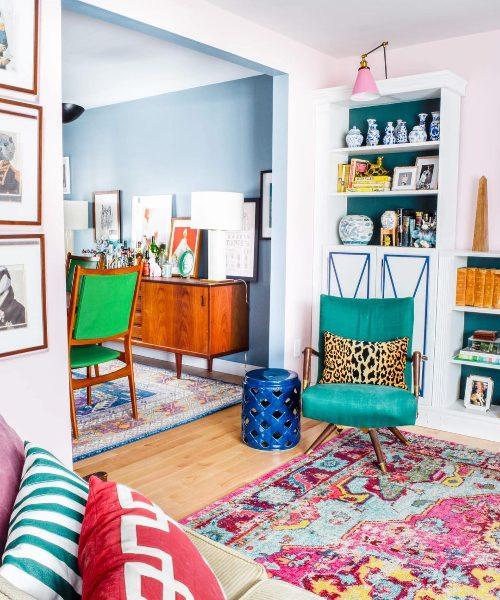 home bto decor idea pop of colour vibrant hues furniture fun