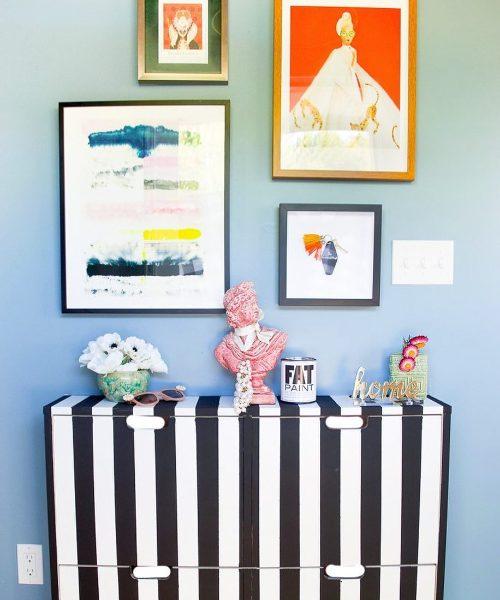 bto home decor hdb fun prints colours stripes
