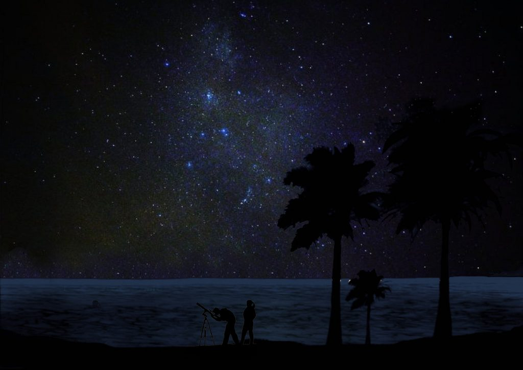 Pulau Ubin stargazing in Singapore