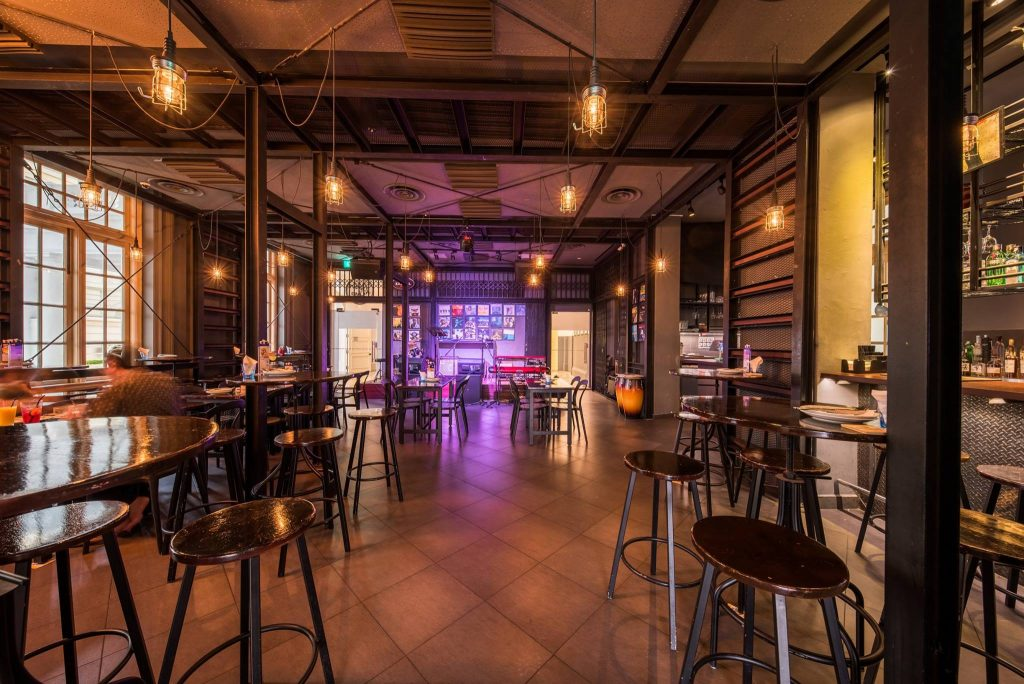 barber shop by timbre jazz bars in Singapore