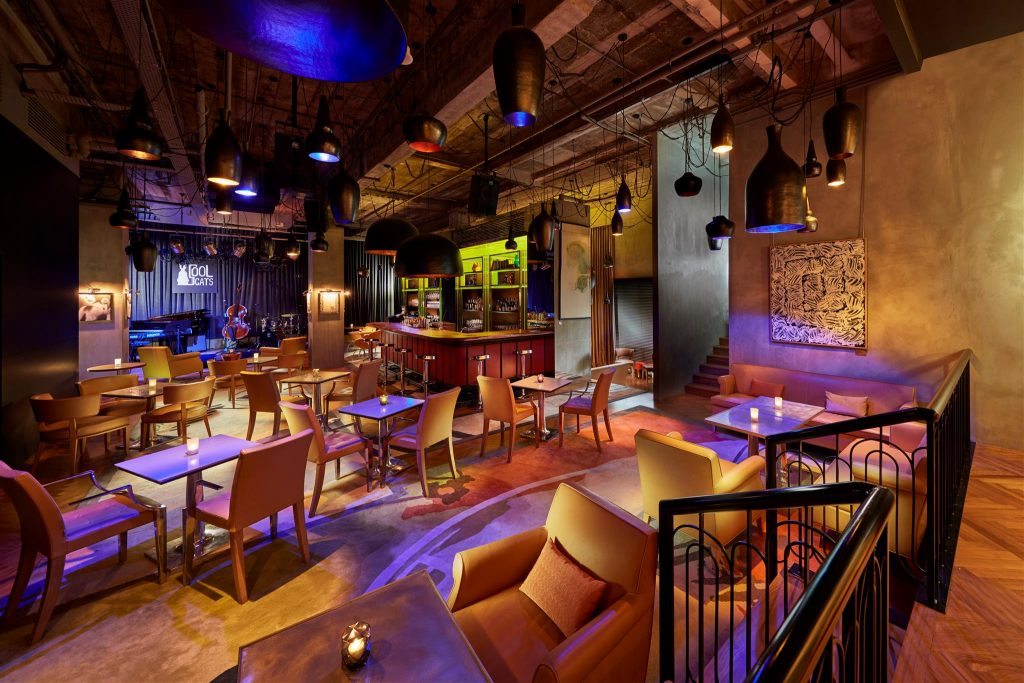 cool cats jazz bars in Singapore