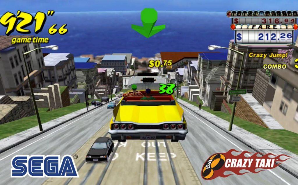 crazy taxi classic retro mobile games