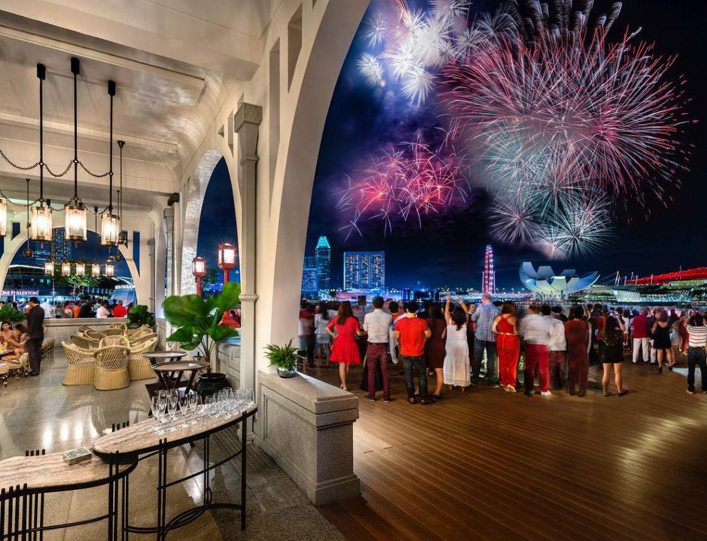 fullerton bay hotel ndp 2019 fireworks